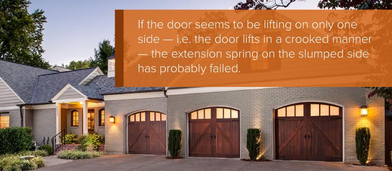 How To Replace Garage Door Extension Springs - Aaron's Garage Doors